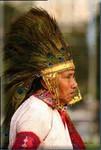 un leader Maya